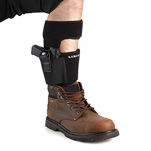 Ankle Holster with padding for Concealed Carry with Elastic