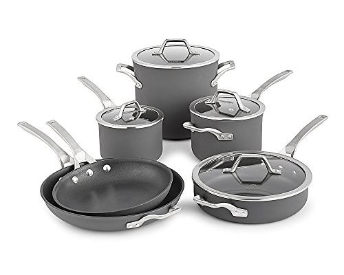Calphalon Signature Hard Anodized Nonstick Cookware Set