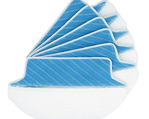 Dry Wet Mop Replacement Cloths For Ecovacs Deebot