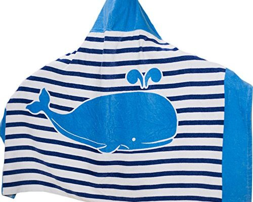 Hooded Bath Towel For Kids Boys Girls 1 To 7 Years Old
